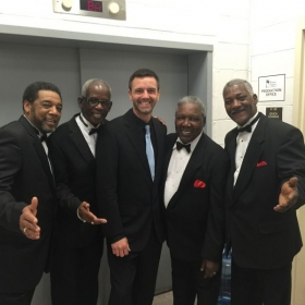 Charlie Thomas and the Drifters pre show pic