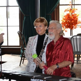 Pam & Harry Duo, Clarinet & Vibraphone