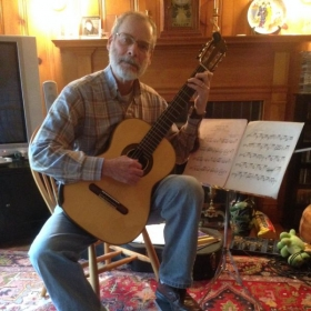 Bruce B. This is one of Bob's Classical guitar students.......excellent student!