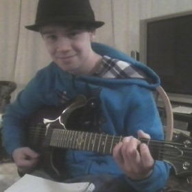 Cory B. - One of Bob' aspiring young Rock Star's!