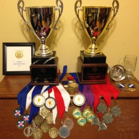 A collection of my awards and achievements in piping