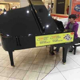 Playing Pianos for Peace in Bergamo Italy😍