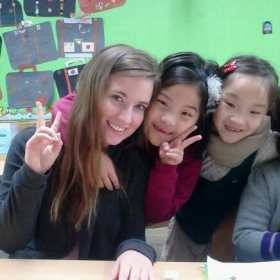 My lovely students in Seoul, South Korea