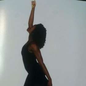 Photo shoot for dance audition in 2013
