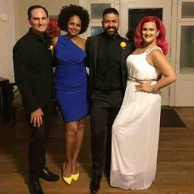 As Director of Music Ministry at Unity on the Bay here for our concert with Leesa Richards, Sami Rodriguez and Envee.