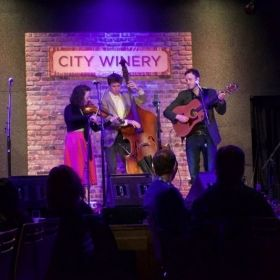Ask Your Folks performs at City Winery in May 2016