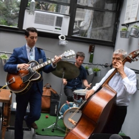 Romagna, New York Playing with my trio
