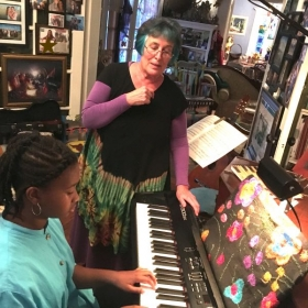 Voice and piano lessons