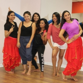 After Bollywood Class pictures
