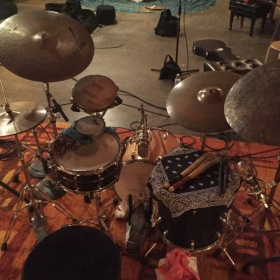 Very interesting setup for the INGA recording session!