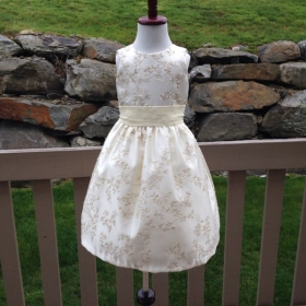Flower girl dress from my collection