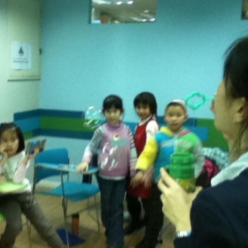 Janice is teaching English in Beijing, China