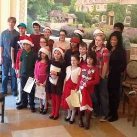Performing at Carillon Nursing home Dec 2015