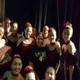 Youth Int/Adv Ballet at recital