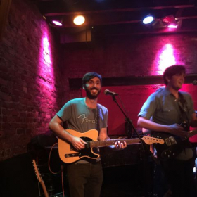 Live at Rockwood Music Hall in NYC