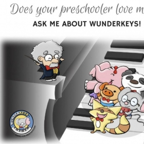 Wunderkeys Offered for pre-school age children.
