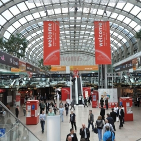 Messe Düsseldorf convention/expo lobby