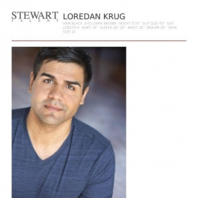 Proud to be represented by Stewart Talent!
