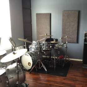 Two drumsets...