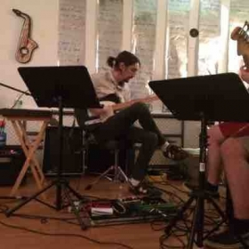Playing a house show in Montevallo Al