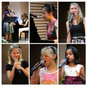 Some of my singing students singing at their highest best.