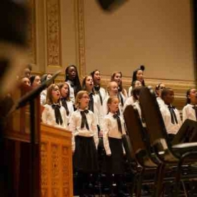 Me as assistant teacher performing at Carnegie hall with every voice choir