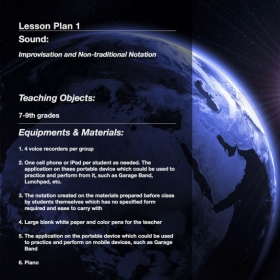 Creative Lesson Plan 1