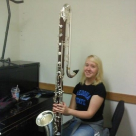 The Contrabass Clarinet!