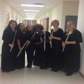 Flute section Fall 2016 at Florida State College at Jacksonville