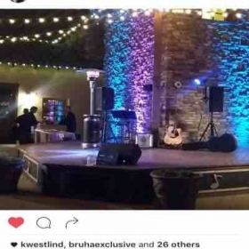 Solo act performance at lorimar winery
