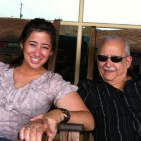 Me with my Cuban grandfather!