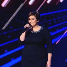 Performing at The X Factor show