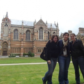 Summer seminar at Oxford University, England