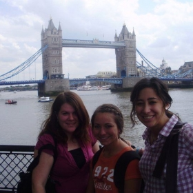 Day trip to London while studying at Oxoford on the history and literature of the British Isles