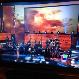 Performance at the Latin Grammys 2014 with Alejandro Sanz
