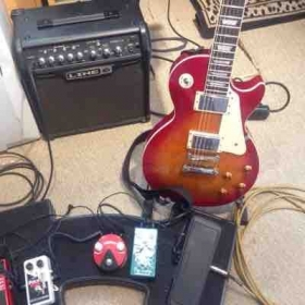 My pedal rig as of right now