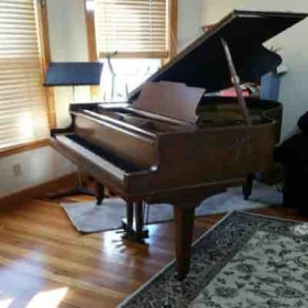 You will enjoy singing with the baby grand Piano in my studio!
