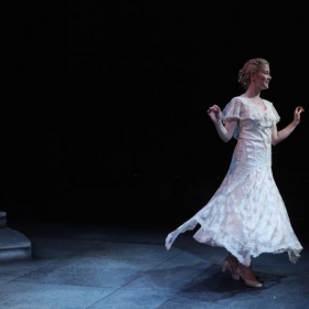 Production still from ANNA KARENINA at Capital Stage Company. PC: Charr Crail