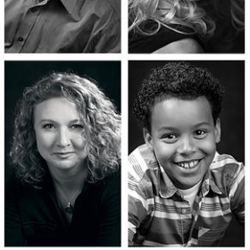 Kait's students gain access to very affordable headshots with her studio's professional, fun and gifted photographer.