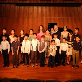 Students recital in Hong Kong City Hall - Recital Hall 2013