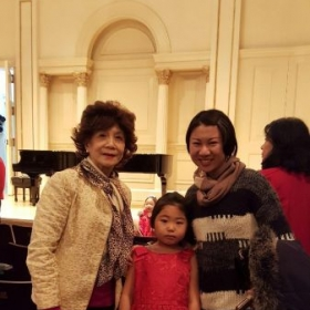 With one of the most renowned Pianist; Central Conservatory Professor Ms Bao Huiqiao