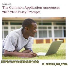 There are 7 prompts.  Get started early and Best wishes all!  Also, do the schools of your choice have essay supplement requirements?