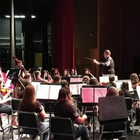 Conducting a High School Varsity Orchestra - Fall 2016