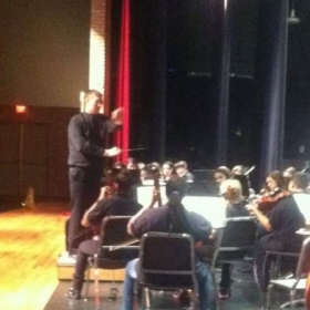 Conducting a Varsity Intermediate School Orchestra