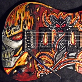 Guitars I've custom made myself for other Artist!