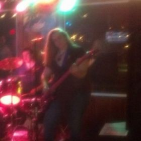 Playing live with Amethyst Heart at the Grog and Tankard, Stafford, VA