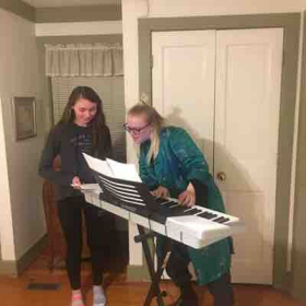 Orla answers Taegan's question about her sheet music