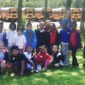 Field trip with a group of some of my favorite second graders!