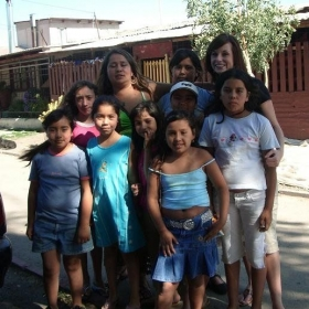 Doing home visits during the summer in rural Chile