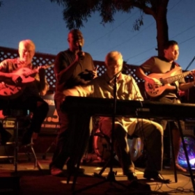impromptu casual performance evening with The Kenny Thames Combo Phoenix, AZ